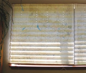 Made From a Map: Window Shade Tutorial
