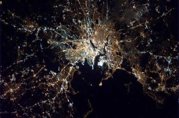 Sympathy for Boston from Space