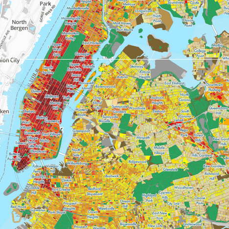 Explore Estimated Block Level Annual Energy Consumption in NYC