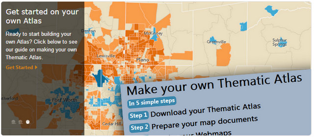Create Your Own Thematic Atlas Using Esri Atlas