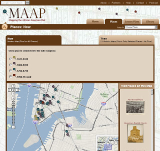 MAAP: Mapping the African American Past