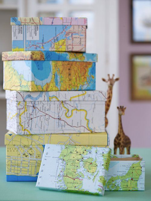 Creative Summer Projects with Maps
